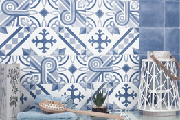 Azulejos tipo mosaico