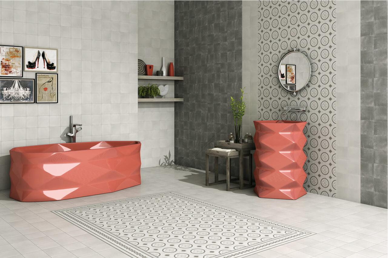azulehos hidráulicos para baño