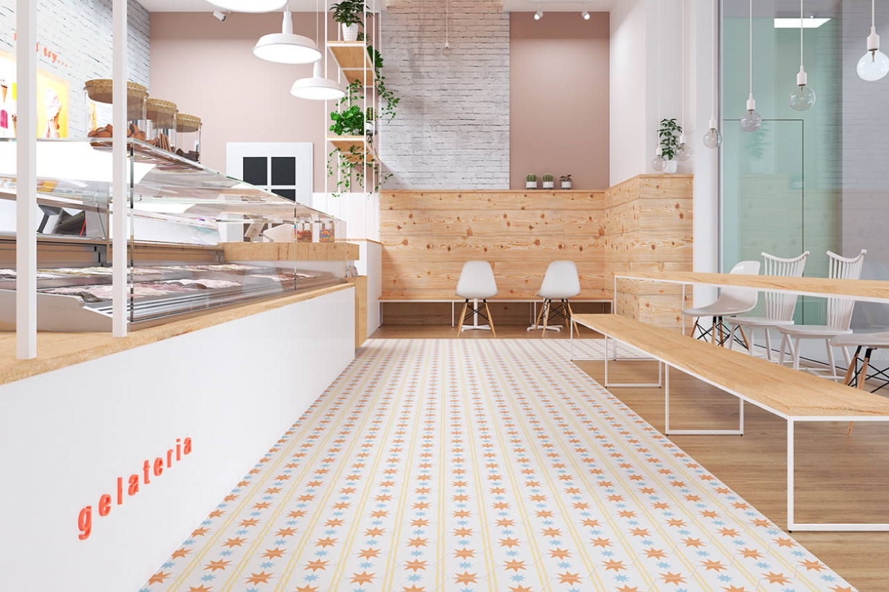 azulejos para restaurantes