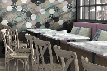 azulejos salón
