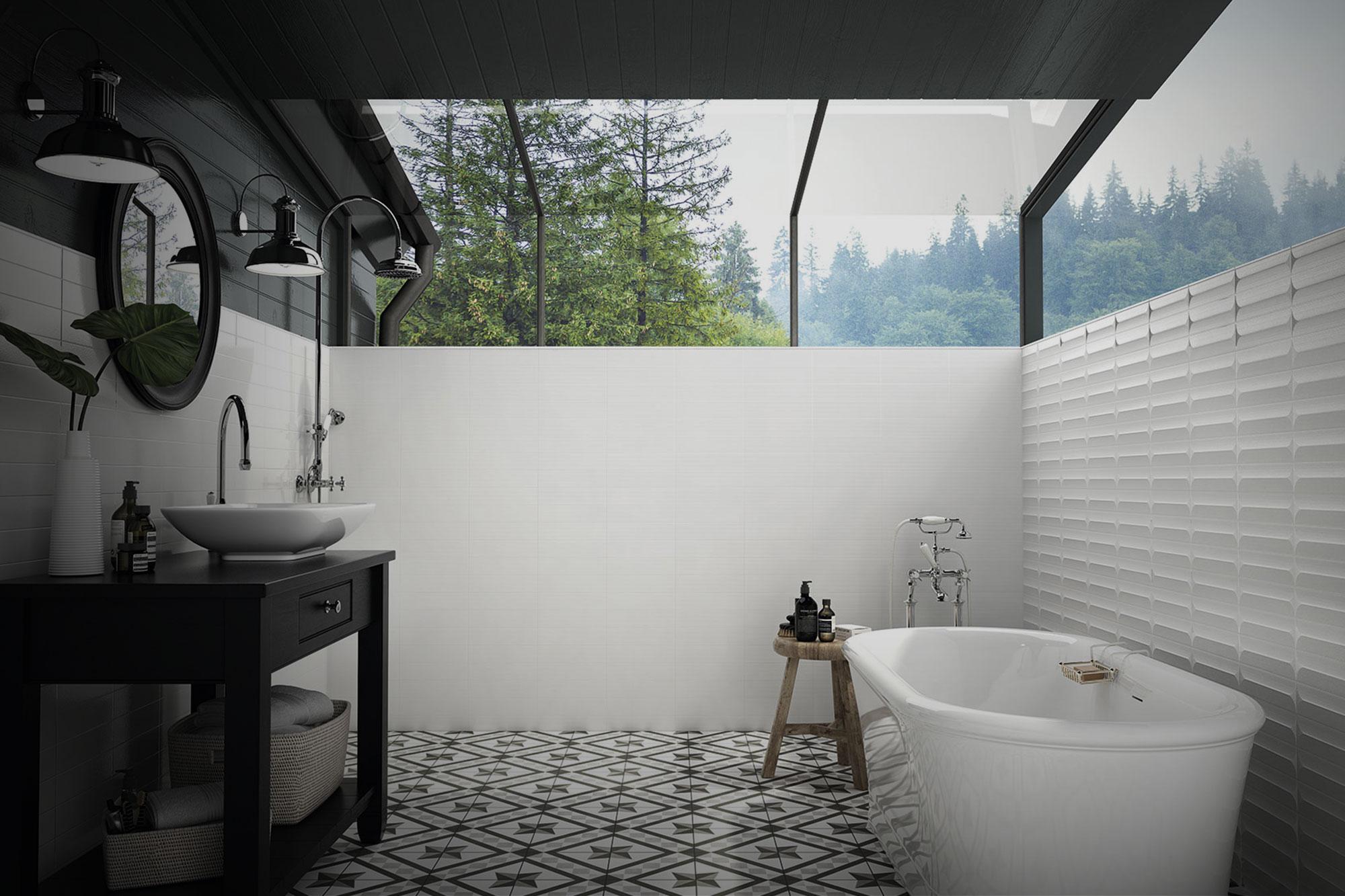ambientes cerámicos baños
