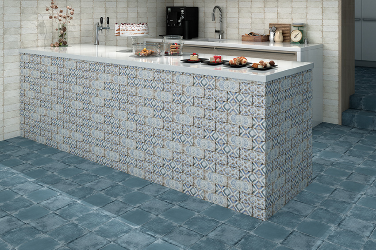 HYDRAULIC TILES FOR KITCHEN